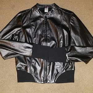 Urban Grove dance Solutions Fux leather jacket
